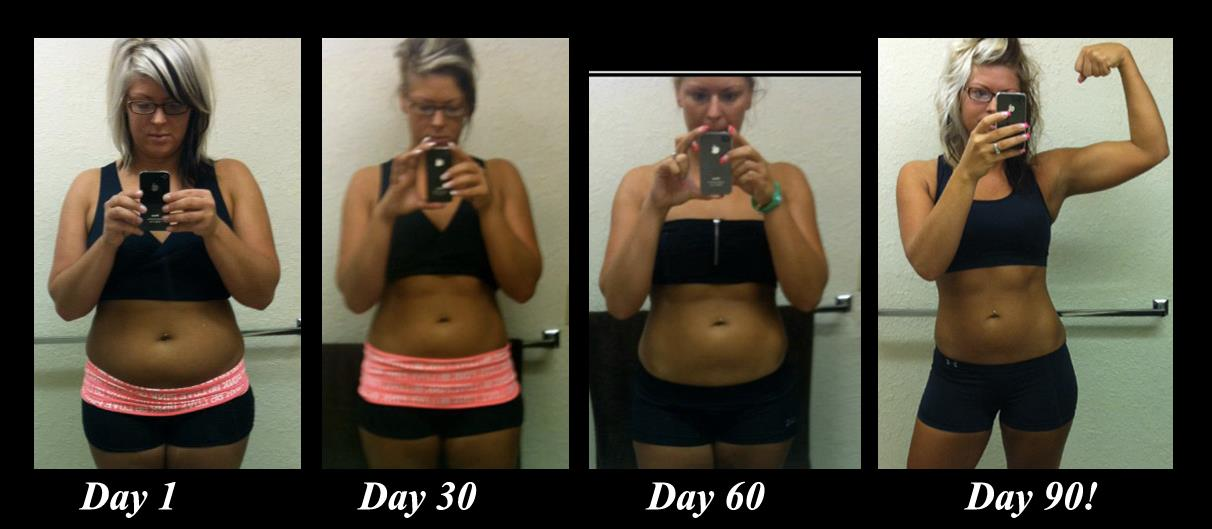 30-Day Challenge Before and After